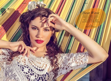 Editorial fashion revista Elegant USA