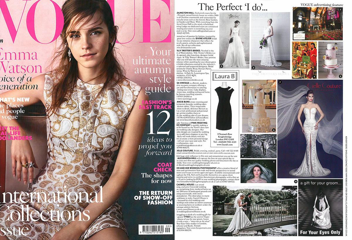 Vogue British Make-up pentru Cielle Couture, Lacramioara Tataru