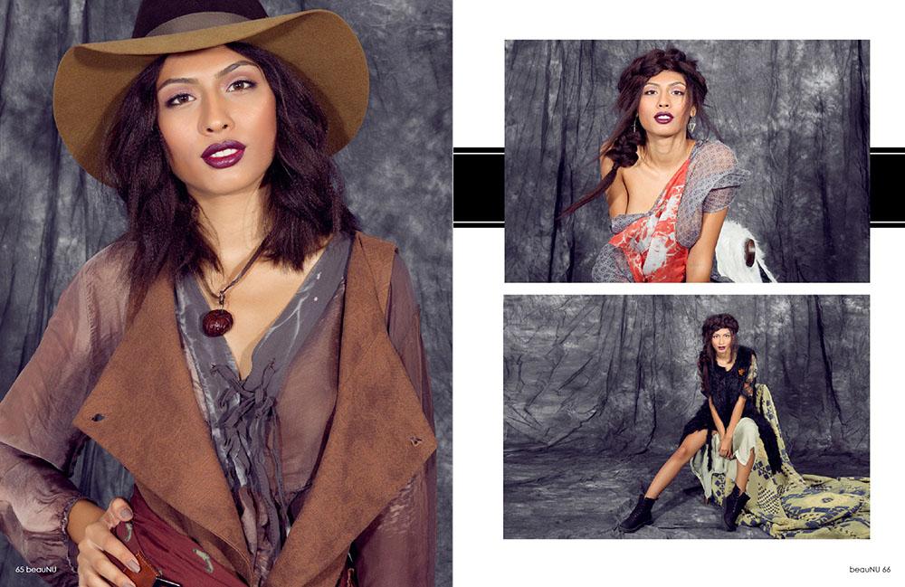 Make-up editorial fashion Beau Nu Magazine, professional, artist, London