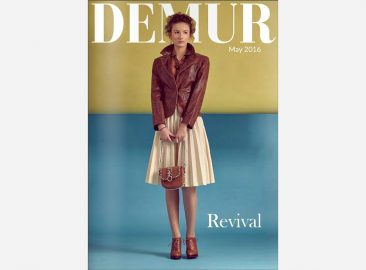 Makeup cover fashion editorial Demur Magazine UK