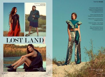 Makeup editorial One Coast Magazine Thailanda